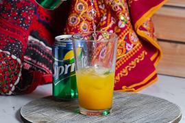 Fresh Lime W/ Mango & Sprite