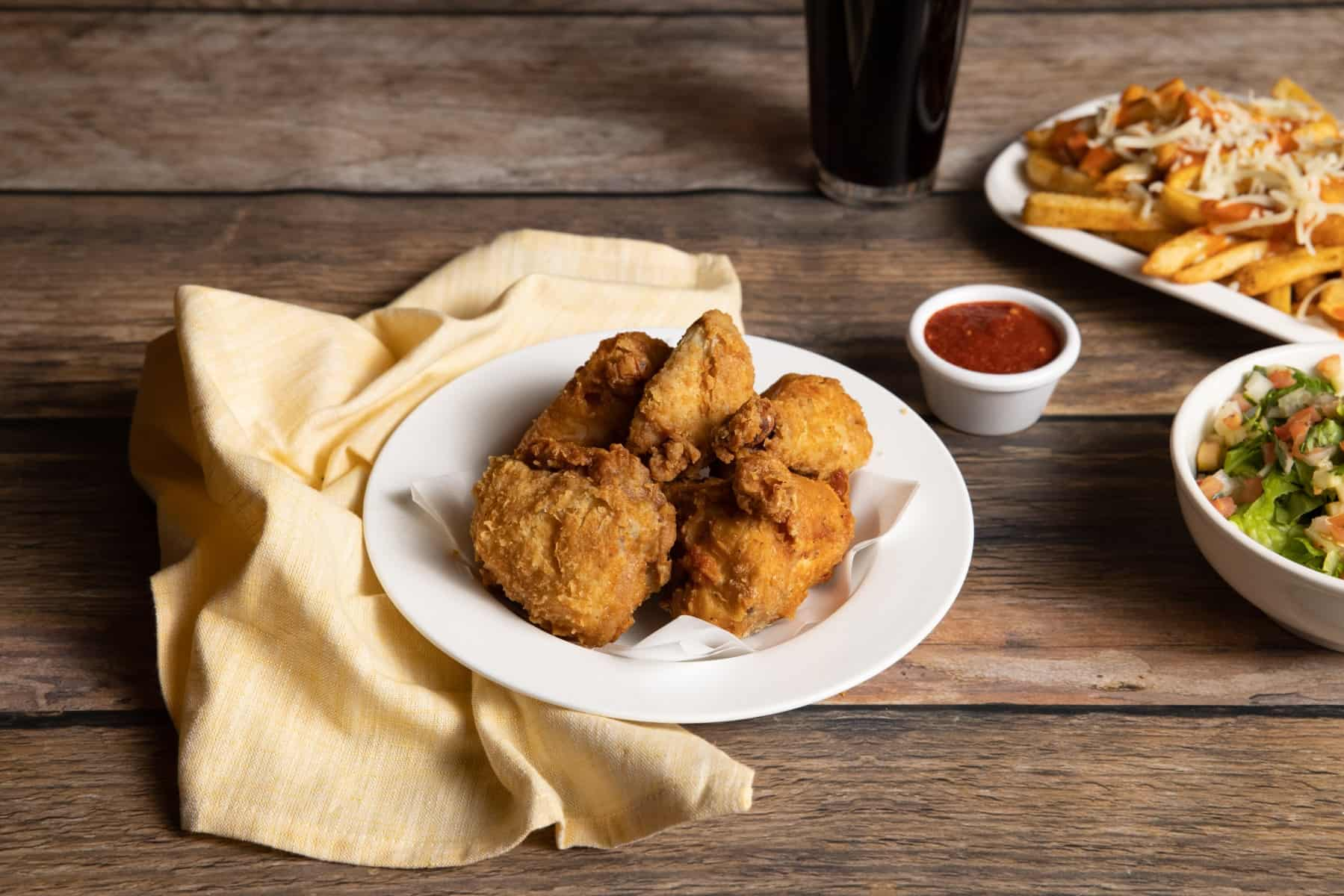 Mirchi Fried Chicken Meal